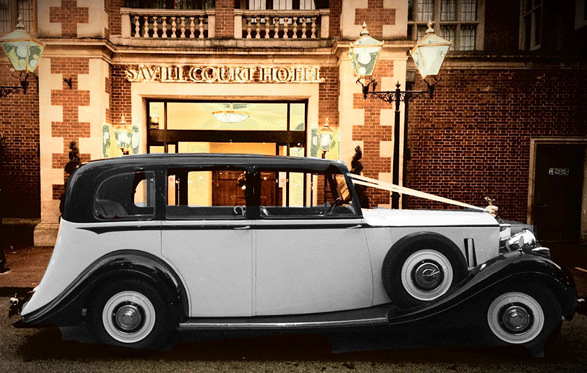 Rolls-Royce Wraith - 1939 - perfect wedding transport